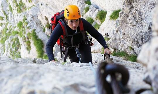 Klettertour Mont Aiguille, Dauphiné-Alpen, Vercors