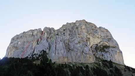Auf den Mont Aiguille