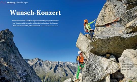 Fotogalerie, Titelstory Zillertaler Alpen