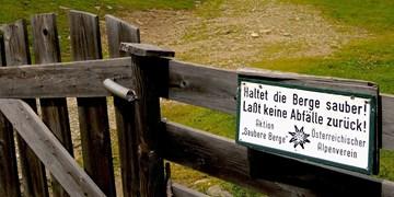 """ÖAV: Engagement für """"Saubere Berge"""""""