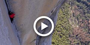 Erstes Video von Alex Honnolds Free Solo am El Cap