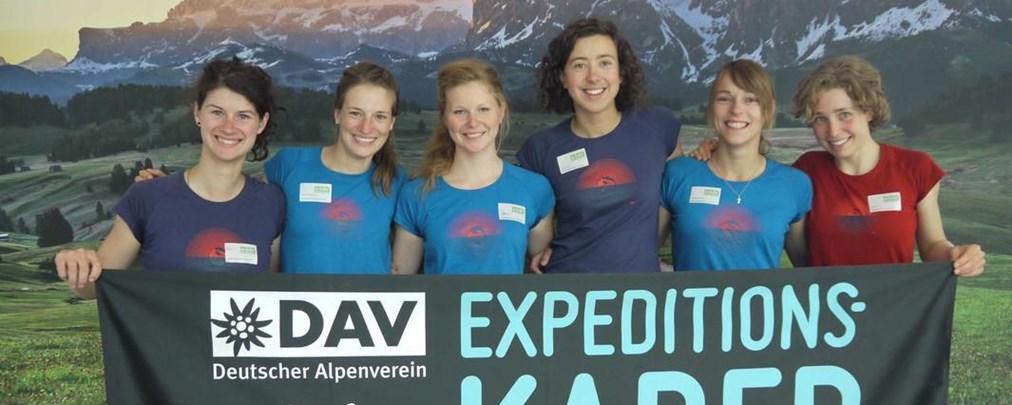 DAV: Neuer Expedkader der Frauen steht!