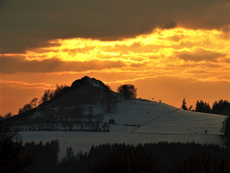 Sonnenuntergang am Wachtküppel