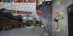 Highlight: Boulder-WC im Olympiastadion