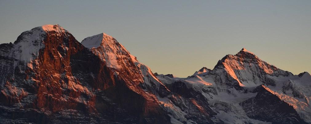 Droht Felssturz am Eiger?