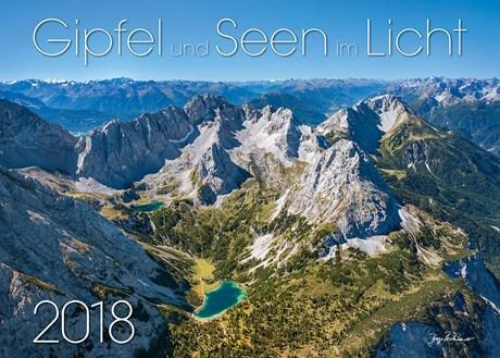Kalender: Gipfel und Seen im Licht 2018