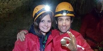 Höhlenbefahrung mit Peter Schlickenrieder