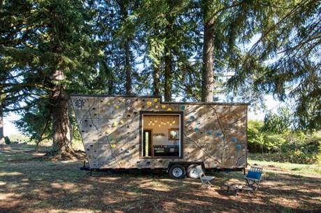 Fotogalerie: Tiny House für Kletter-Fans