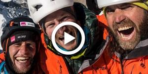 Video: Huber, Siegrist und Zanker gelingt Erstbegehung