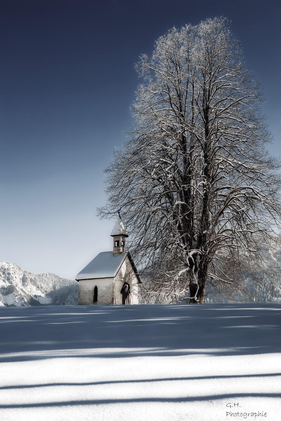 Die kleine Kapelle in Lunz am See