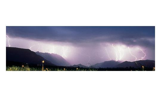 Blitze und Donner, schlechtes Wetter gibt es nicht
