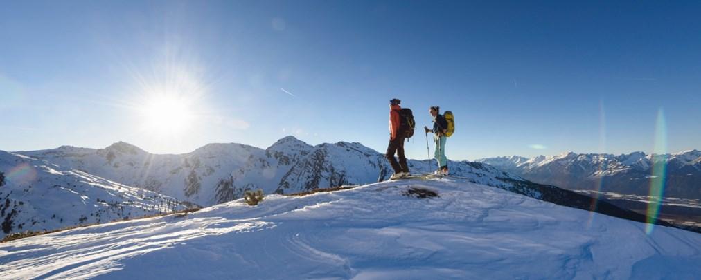 ALPIN 02/2018: Skitouren-Paradies Tuxer Alpen