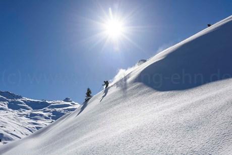 Skitouren um die Weidener Hütte
