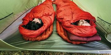 Test Schlafsack, Kunstfaser