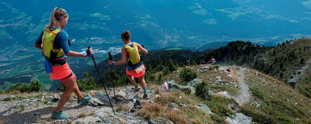 Trailrunner in den Alpen