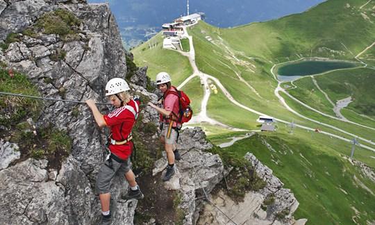 Klettersteigset Kind : Mit kindern am klettersteig