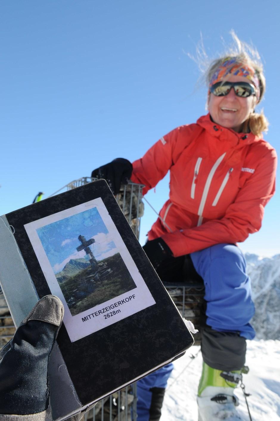 Gipfelbuch am Mitterzeigerkopf