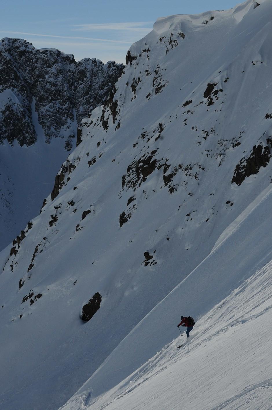 Perfekt für geübte Skifahrer