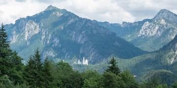 Königliches Bergpanorama