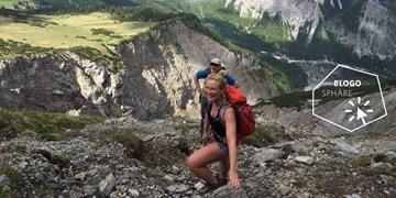 Höhenangsttraining im Karwendel