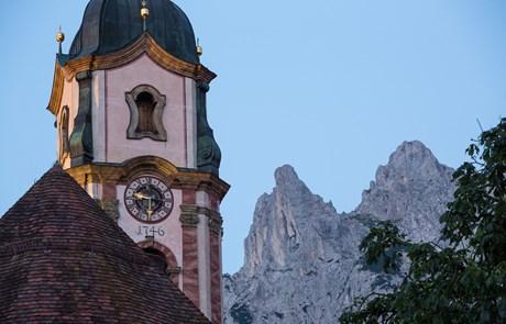 Johannifeuer im Karwendel