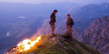Magische Bergfeuer im Karwendel