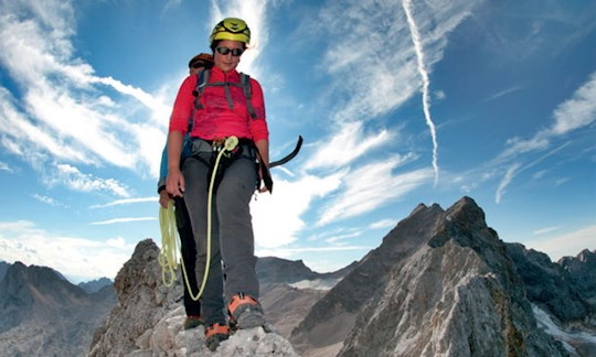 Jubiläumsgrat Klettersteigset : Lang und anspruchsvoll: der jubiläumsgrat
