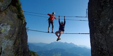 Kostenlose Klettersteigcamps von SAAC 2018