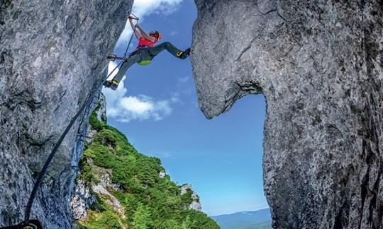 Klettersteigset Mit Seilklemme : Der pidinger klettersteig ist wieder begehbar