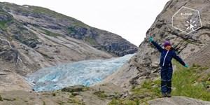 Auf Wickies Spuren: Gletscherwanderung mit Kindern in Norwegen