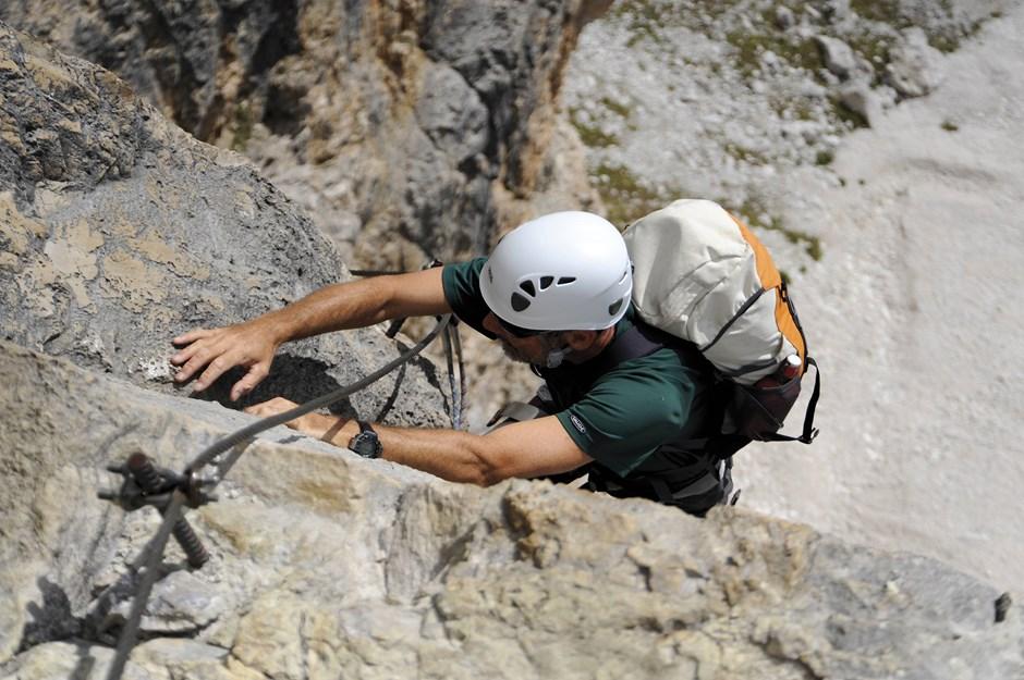 Klassischer Klettersteig