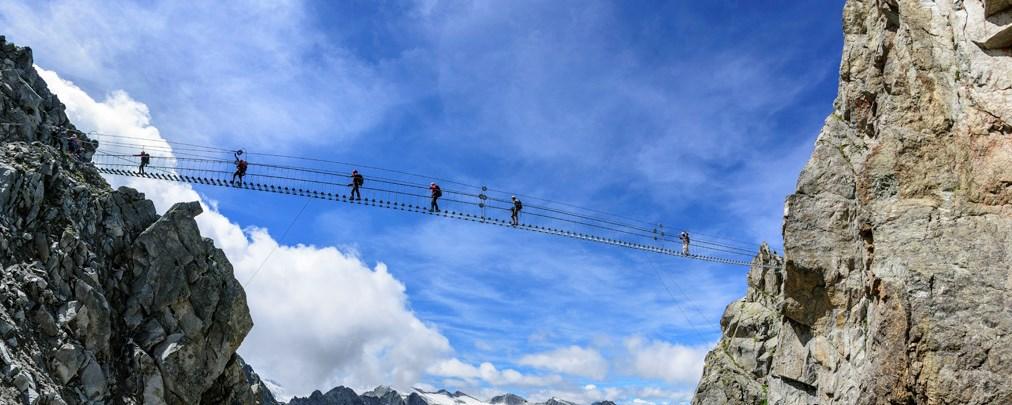 Leichter Klettersteig: Sentiero dei Fiori