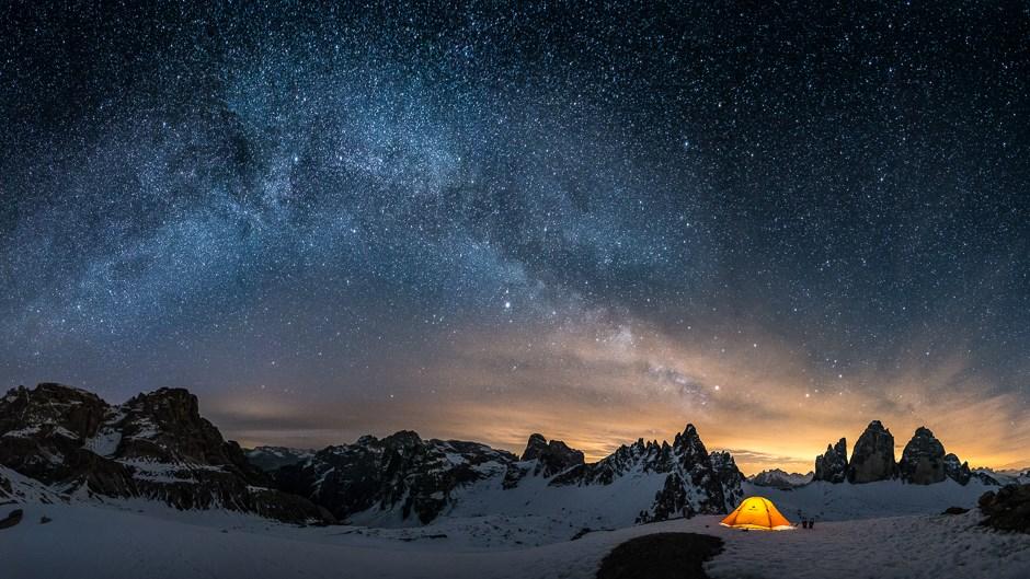 Eine Nacht unter der Milchstraße