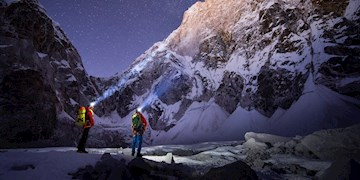 """Lunag Ri - David Lama & Conrad Anker walk the line"""