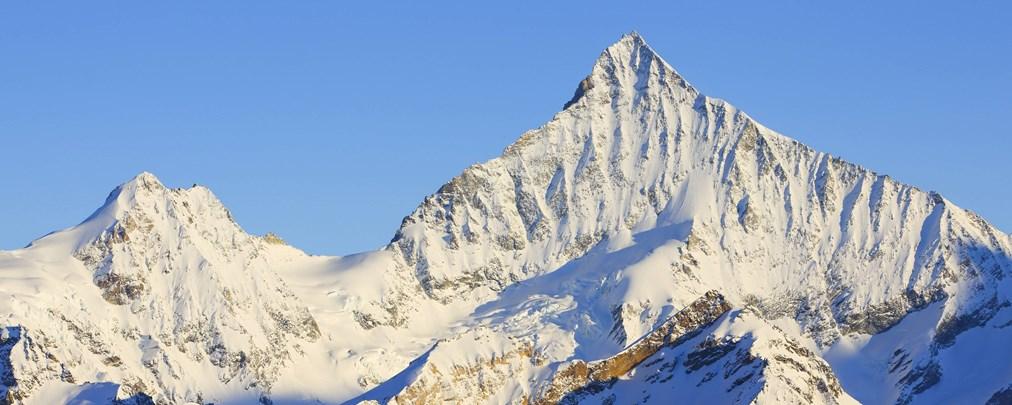 Ein Traum wird wahr: einmal auf das Weißhorn im Wallis
