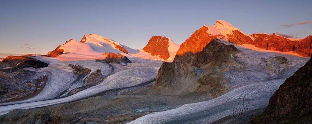 Gletschertrekking im Wallis