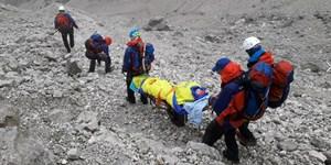 Bergsteiger stürzt am Höllentalferner in Spalte