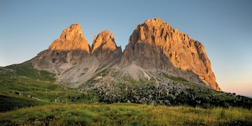 Traumhafte Klettertour auf die Fünffingerspitze