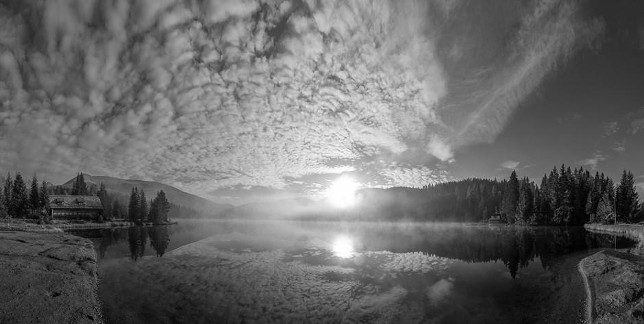 Sonnenaufgang am Prebersee