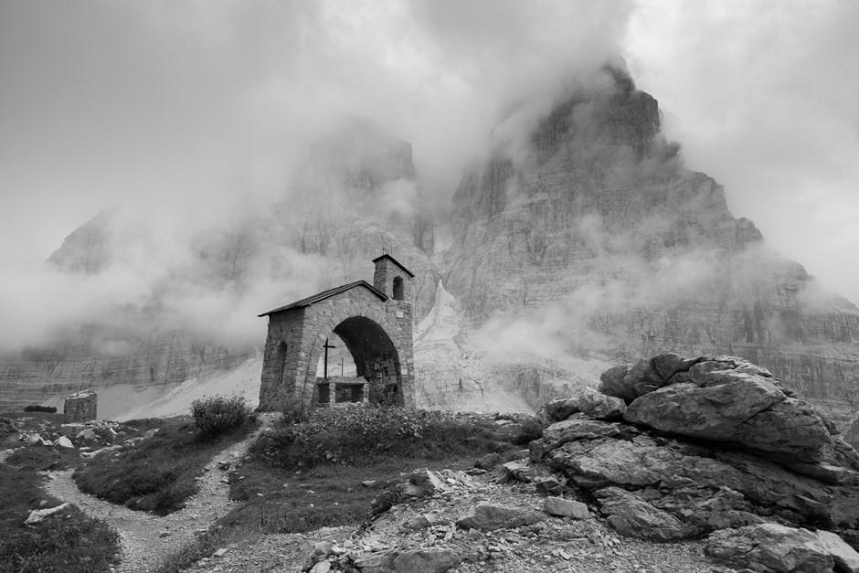 Kapelle beim Rifugio Brentei