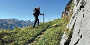 Dachstein und Appenzeller Alpen: Die GPS-Tracks unserer Dezember-Ausgabe