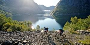 Unterwegs zur Trolltunga in Süd-Norwegen