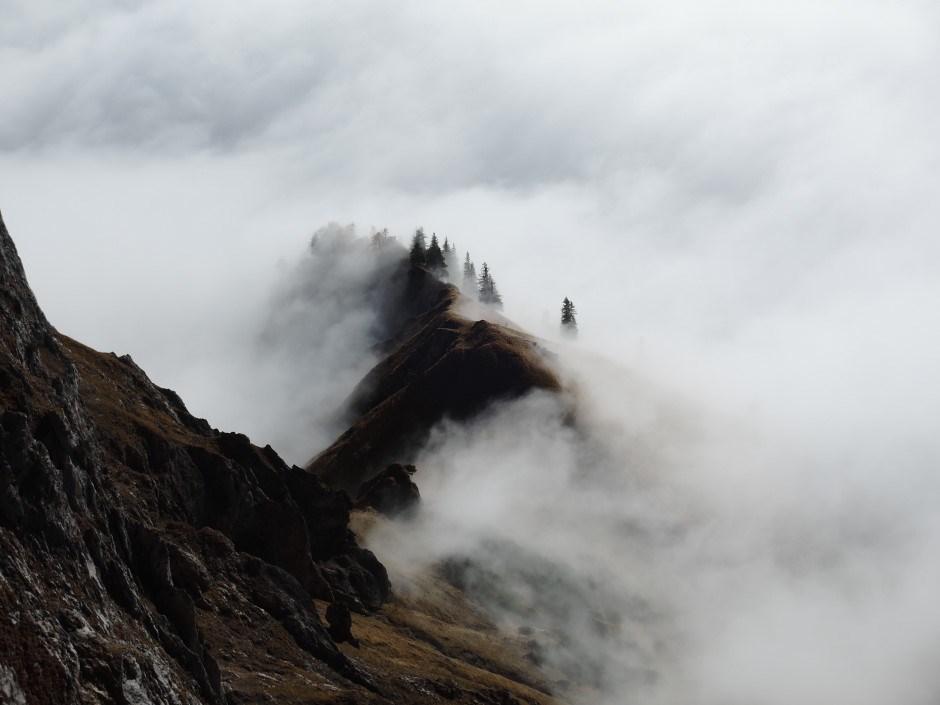 Ruhige Bergwelt