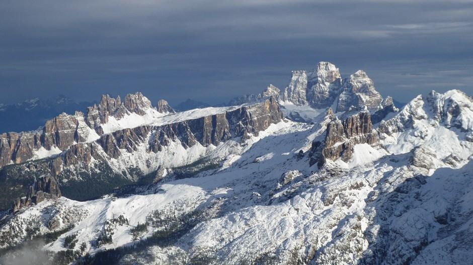 Lagazuoi Bergpanorama