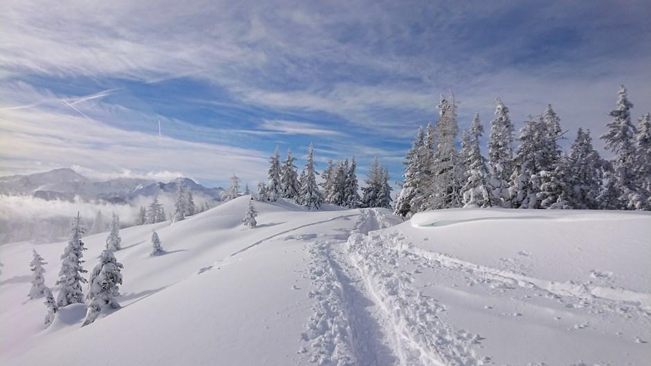 Winterwonderland Lahngangkogel