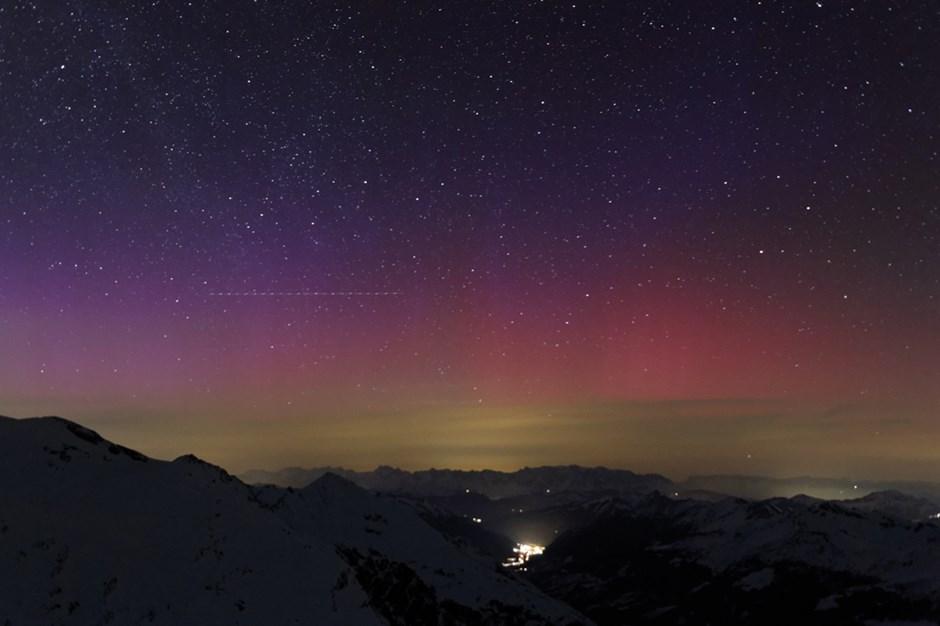 Polarlichter in Mitteleuropa