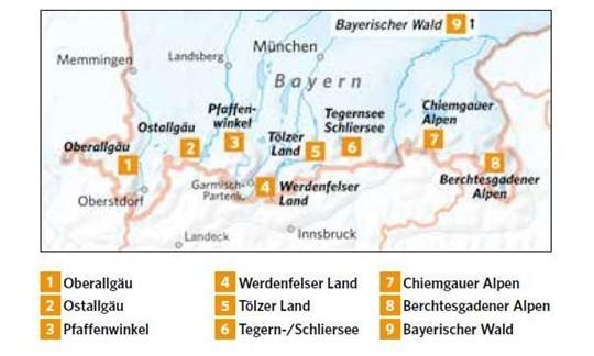 Berchtesgadener Land Karte.Pistentouren In Bayern Der Große überblick Ii
