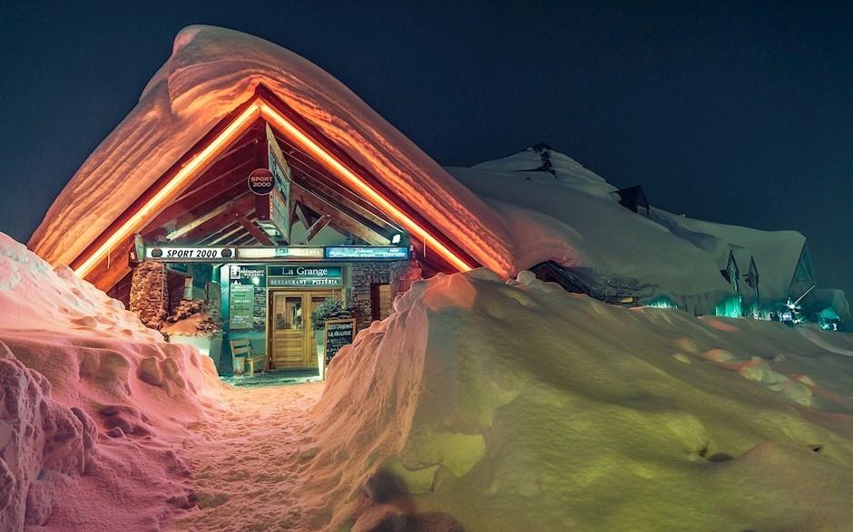 """Platz drei: """"Val Thorens im Schnee"""""""