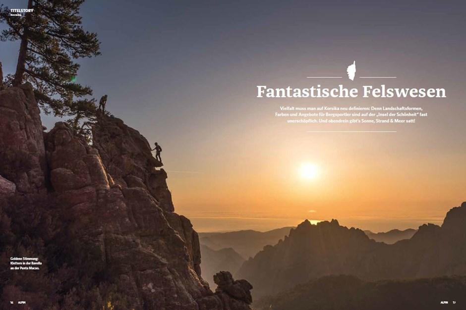 Titelstory: Wandern, Baden und Klettern auf Korsika
