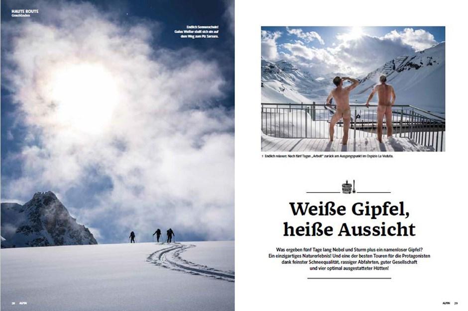 Reportage: Haute Route Graubünden